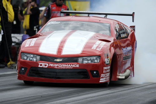 Michigan's Don Walsh rode to victory in Pro Mod with his turbocharged 2015 Camaro