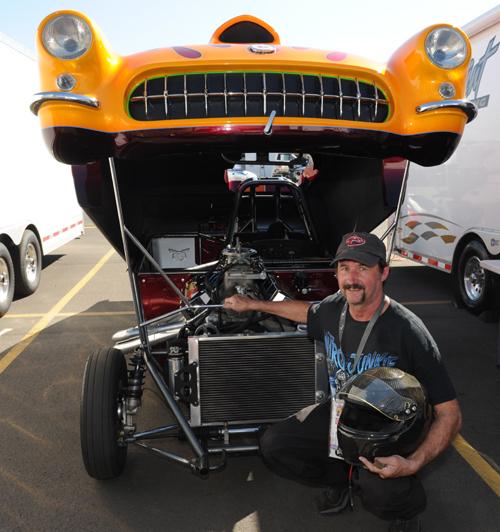 """The Don Davis-built Corvette's """"flip top"""" access provides some great conveniences."""