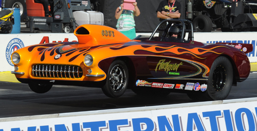 Ed Hutchinson's '57 Corvette is one of the nicest S/G creations ever to come out of Canada