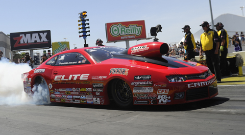 Defending World Champ Erica Enders-Stevens was dominating again while racing at Las Vegas.