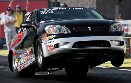 """The man behind the highly successful """"Winners Choice Racing"""" - Tom Nolan was the low qualifier in Super Stock at Las Vegas with a spectacular 9.411 secs (1.109 under his GT/BA index)."""