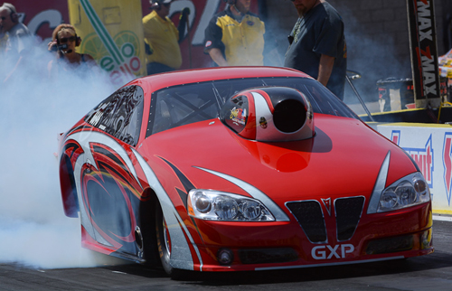 Tilly Alberta is home base for Mike Williams' GXP which does super serious burnouts in the TS class