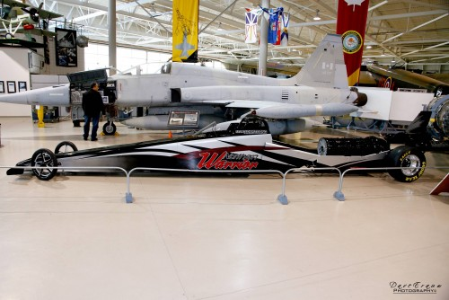 Neale Armstong's much anticipated new Jet Dragster will be a featured part of the Canadian Thunder Nationals this summer