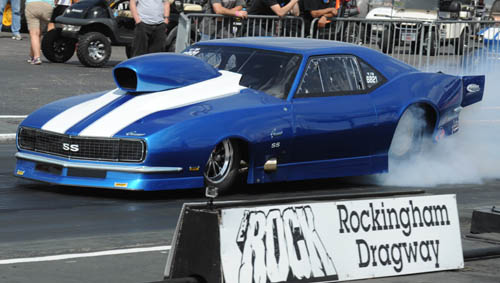 You are looking at the world's quickest naturally aspirated/automatic to the 1/8th mile mark.