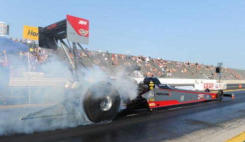 Popular Canadian racer Todd Paton will run the Paton Family Racing dragster at Grand Bend in June