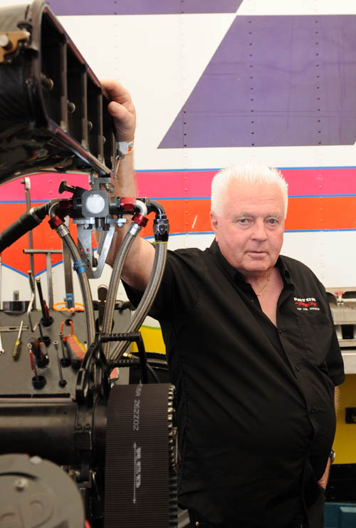 """""""The Captain"""" celebrates his 50th year in drag racing in 2015!"""