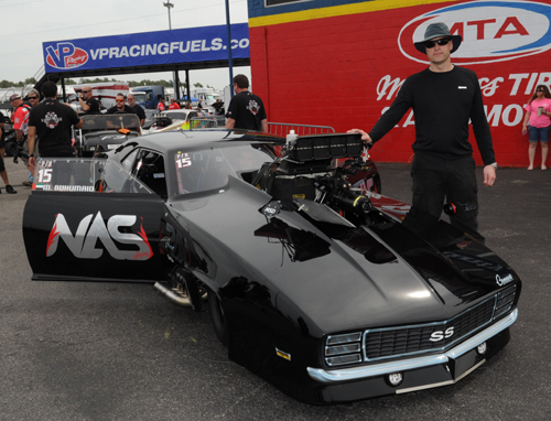 Canada's Al Billes is helping to guide an impressive Middle East race team forward in drag racing.