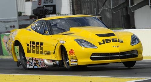 Troy Coughlin's Jegs.com C7 Corvette