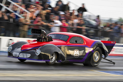 Bruce Boland has brought back his Willys for the 2015 Pro Mod season