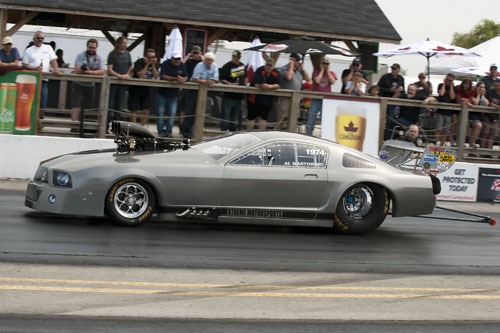 Al Martorino (Coburg ON) had his supercharged Ford Mustang entered for PM
