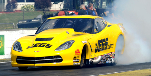 NHRA Pro Mod points leader Troy Coughlin retained that status with a runner-up finish.
