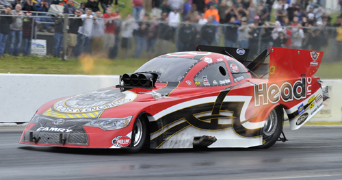 Chad Head was the surprise pole qualifier in FC with a track record 3.967 secs run.