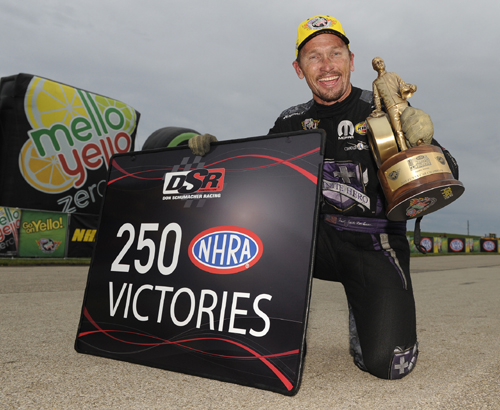 Jack Beckman's win was the  milestone 250th in NHRA racing for DSR Racing!