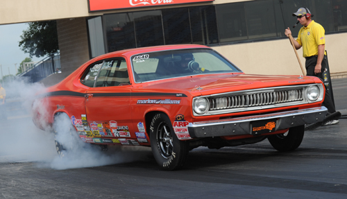 Defending NHRA Lucas Oil World Champion Austin Williams scored in Stock eliminator.