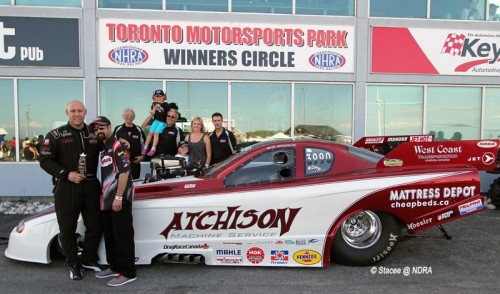 Rob Atchison's potent AFC team won the first NDRA event of the season.