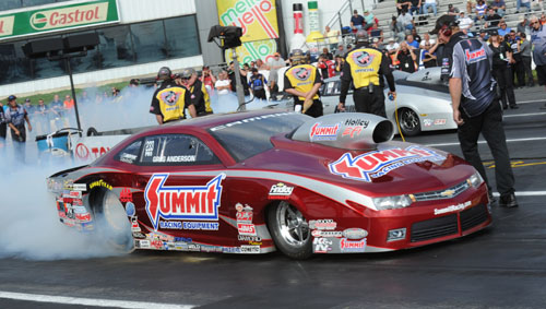 Greg Anderson won for the 76th time in his illustrious Pro Stock career