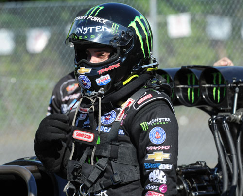 Brittany Force had a superb runner-up finish in Top Fuel