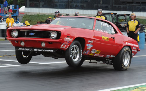 Steve Calabro was a first time NHRA national event winner in Stock