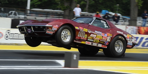 E-Town:  Nova Scotia's John Armstrong was the quickest Canadian qualifier in Super Stock with a 8.730 secs ET (-.970)