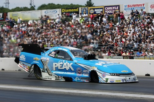 John Force racked up career win #143 (!) after racing was completed at New England