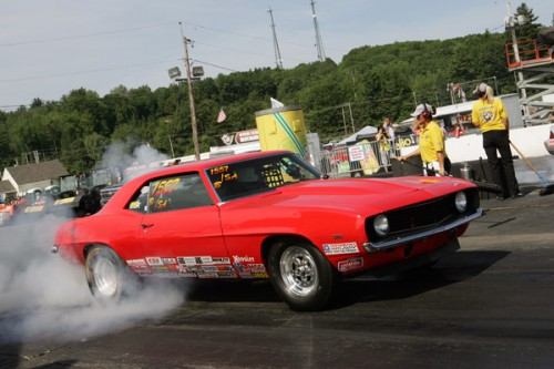 Nova Scotia's Fred Thibeault went to the 5th round in Stock eliminator racing his B/SA '69 Camaro