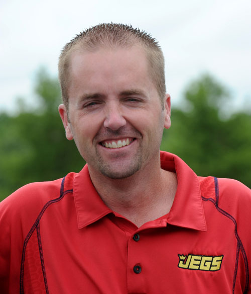 Super Gas racer Jason Kenny will look to repeat his 2010 Jegs All Stars event winning effort.