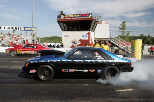 John Rankin (from Nova Scotia) had a strong effort in S/ST with his '86 Mustang - winning two rounds.