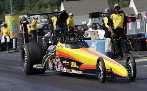 Wiley racer Al Kenny scored career NHRA national event win #7 last weekend at New England