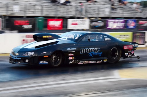 Travis Harvey notched his first career win in the Pro Nitrous category