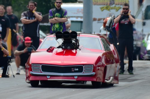 Al Pittman drove this Camaro owned by Terry and Terri Green to the Precision Turbo Pro Boost title