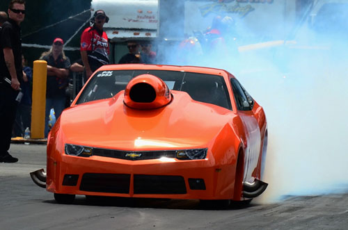 Montana's Pat Stoken won in Pro Nitrous at a record setting pace