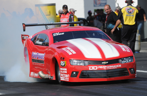 One again Don Walsh set top speed of the meet in Pro Mod -- this time at 253.33 mph.