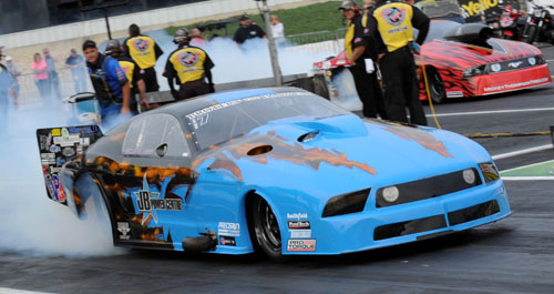 Kevin Fiscus's JP Power Centre Ford Mustang