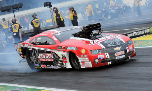 Mike Janis clocked the quickest supercharged Pro Mod run ever!
