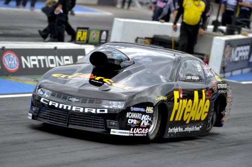 Larry Morgan's season resurgence in Pro Stock continued with his 2nd win of the year.