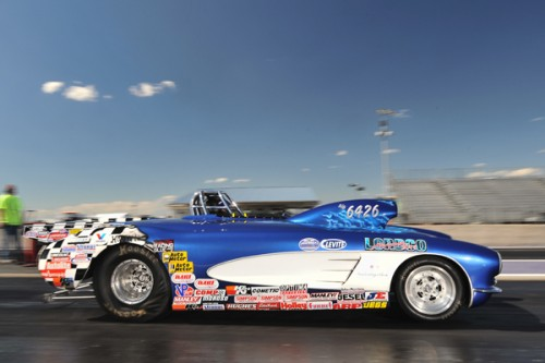 Mike Shannon - won X2 in his S/G Corvette during last weekends LODRS event in Montana