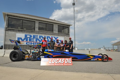 Trevor Ritchie's Alberta-based dragster won big in T/D