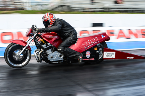 Steve Campbell, CMDRA 2015 Oil City Nationals Super Bike Winner