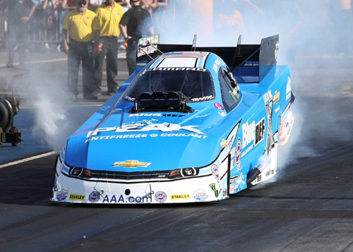 John Force had a strong event - qualifying #1 and placing runner-up.