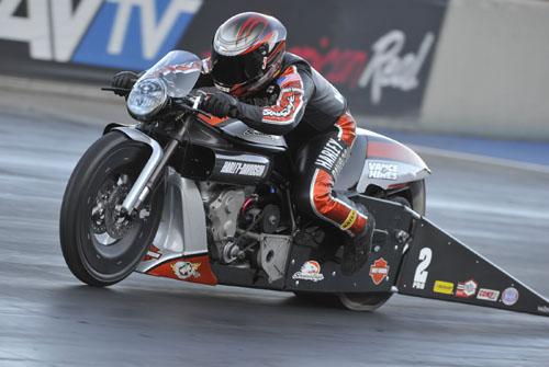Pro Stock Motorcycle winner - Eddie Krawiec