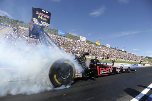 Top Fuel winner Steve Torrence ended a 2-year drought.