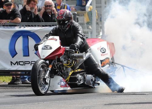 The Nitro Harley winner was Kevin Boyer