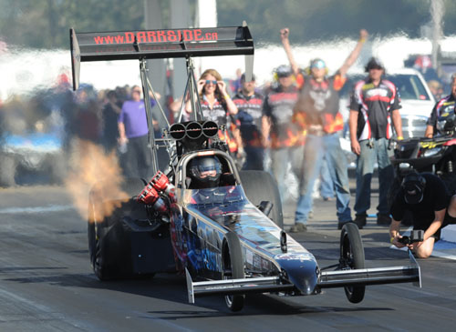 Calgary's David Fedorwich raced his TF car at Edmonton