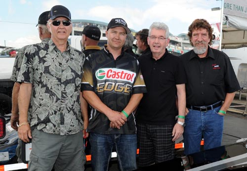 Ron Hodgson, Ryan Hodgson, Bob Papirnick and Harold Parfett have combined to give drag racing fans something very special?