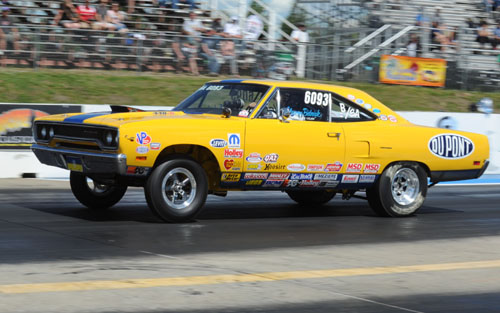 Edmonton's Clarence Bidniak will bring his super cool 440 Plymouth to Chicago!
