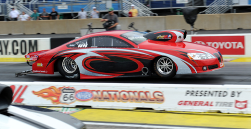 Mike Williams rolled his Alberta-based GXP to the Top Sportsman title at NHRA Joliet!