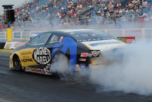 Allen Johnson took the flagship Magneti Marelli Dart to a huge win in Pro Stock