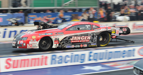 Western New York's Mike Janis won his 4th career NHRA Pro Mod event