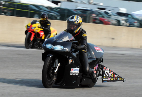 Independent racer Karen Stoffer continued her winning tendency in Pro Stock Motorcycle