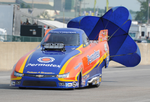 Todd Veney won his first NHRA national event title - finally!
